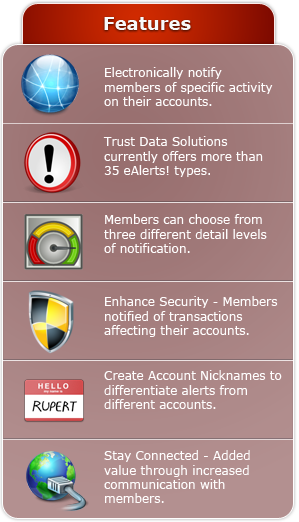 eAlerts! Features